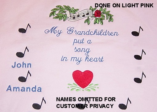 My Grandchild Puts a Song in My Heart sweatshirt