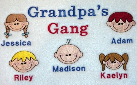 Grandpa's Gang Tee shirt