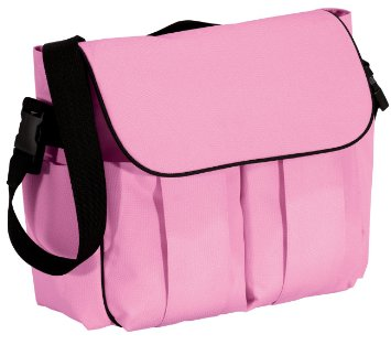 Precious cargo brand pink diaper bag for personalization