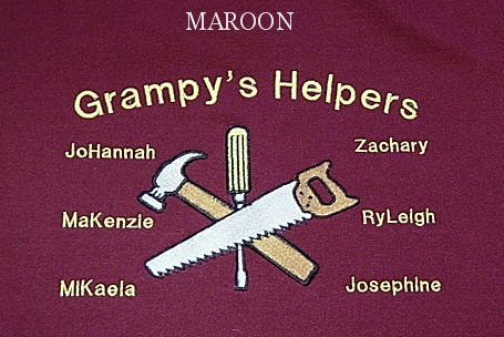 Grandpa's Helpers Tee shirt