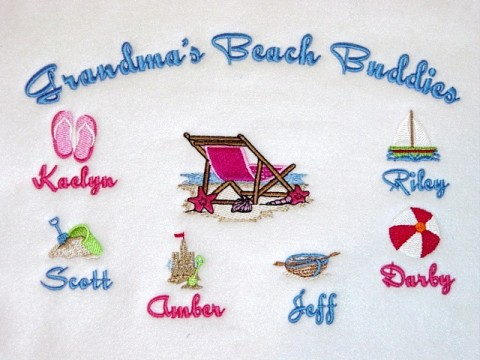 Grandma's Beach Buddies Tee Shirt